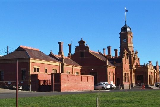 The Unique Railway Station Maryborough