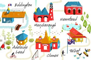 Tiny Towns Arts Trail - Maryborough Victoria